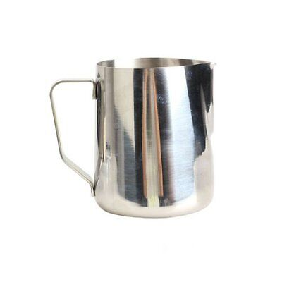 Kitchen Craft Coffee Garland Cup Latte Jug ,Stainless Steel (350ml) AS