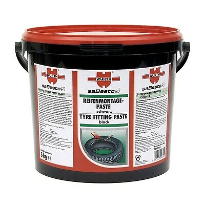 WÜRTH Tyre fitting paste Lubricant 5kg black