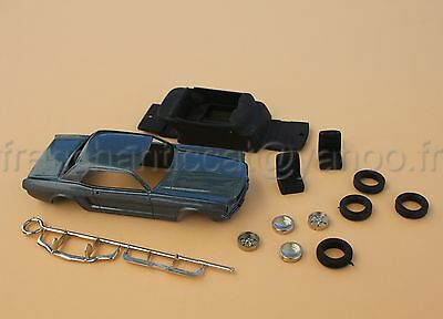 TU voiture 1/43 kit collector FORD MUSTANG coupé 1965 Heco miniatures resine
