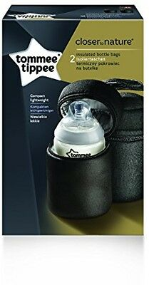 Tommee Tippee Closer To Nature Insulated Baby Bottle Carriers -Pack Of 2