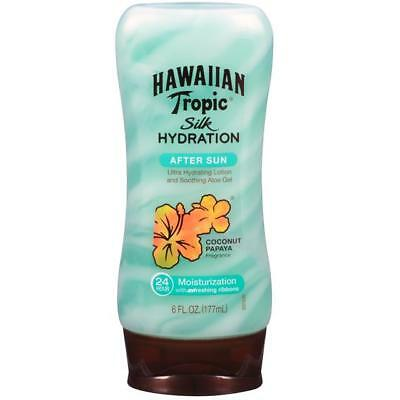 Hawaiian Tropic Silk Hydration After Sun- Hydrating Lotion and Soothing Aloe Gel