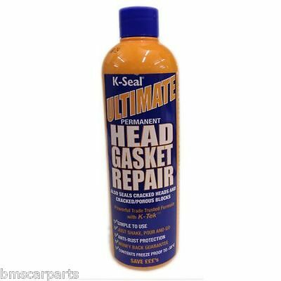 K-Seal Ultimate - Permanent Head Gasket & Block Repair Sealer 472Ml