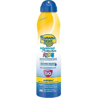 Banana Boat Kids SPF 50 Sun Protection Ultramist Tear-Free  Spray Lotion