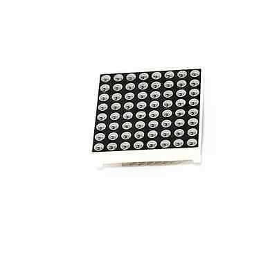 2 PCS 8x8 3mm Dot-Matrix display Red LED Display Common Anode