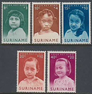 Suriname 1963 ** Mi.435/39 Kinder Children [st0718]