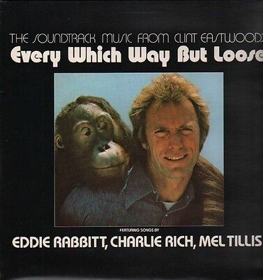 CLINT EASTWOOD - EVERY WHICH WAY BUT LOOSE - Orig SOUNDTRACK (New Sealed) 1978