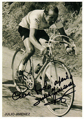 Julio Jimenez (ESP) Bergpreis Tour de France 1965-67 original signiert/signed !