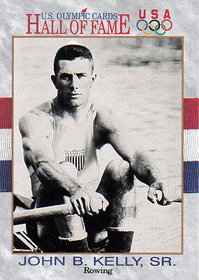 John B.Kelly (USA) † US Olympics Hall of Fame Tradingcard !! 1.OS 1920 Rudern