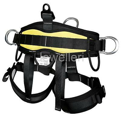 Pro Half Body Rock Tree Climbing /Rope Access Fall Protection Safety Harness