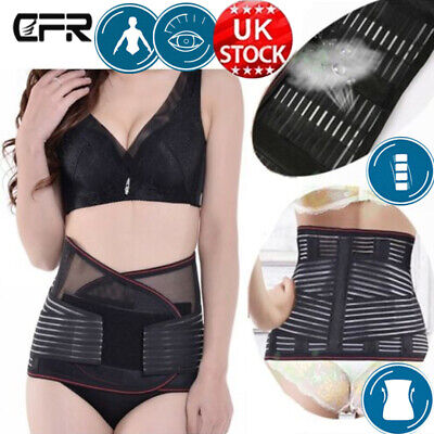 NEW Waist Belts Brace Lower Back Pain Relief Therapy Support Posture G1