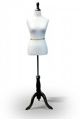 Adjustable Sewing Dress Form Female Mannequin Display Clothing Tripod Stand Base