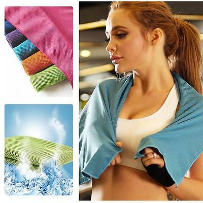 Hot Ice Towel Cold Enduring Running Jogging Chilly Instant Sport Tool