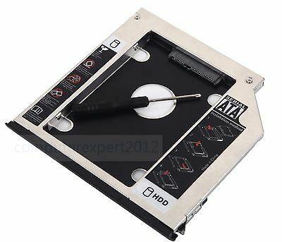 ejector + Bezel 2nd HDD SSD Hard Drive Caddy for Dell Latitude E6440 E6540 M2800