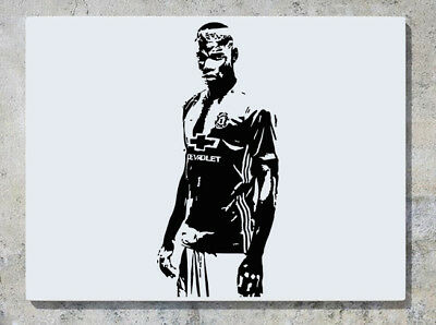 Paul Pogba Manchester United Man U Football Player Decal Wall Sticker Picture