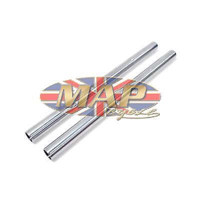 Triumph T120 T140 Disc Brake Hard Chrome Fork Tube Set 97-4380/P2