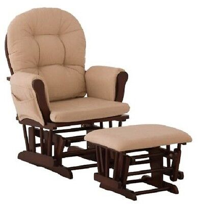 Glider And Ottoman Set Rocking Chairs And Gliders Chair Rocker Nursery Furniture