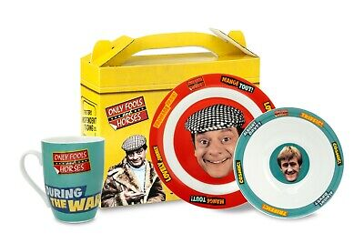 Only Fools and Horses 3 Piece Breakfast Set GREAT GIFT IDEA in Presention Box