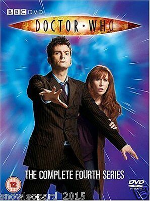 DOCTOR WHO COMPLETE SERIES 4 DVD BOX SET Collection New UK Release DR SEASON