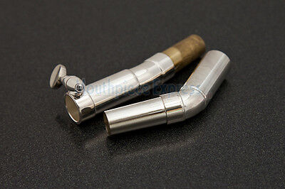 Jupiter 594, 596, and 696 Sousaphone Mouthpiece Bits (Upper & Lower), Silver NEW