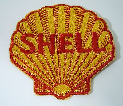 SHELL OIL Embroidered Sew On Uniform-Jacket Patch 3""