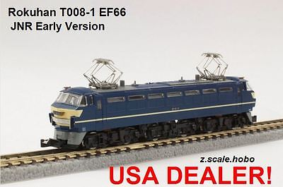 Rokuhan Z Scale T008-1 EF66 Electric Locomotive JNR *NEW $0 SHIP from USA