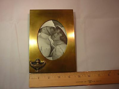 Vintage Bradley and Hubbard Brass Frame with Arabian Lantern