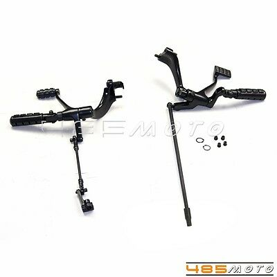 Forward Controls Foot Pegs Kit Set For 2014-2016 Harley XL Sportster 1200 883