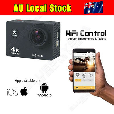 Ultra AT-30 4K@30fps Wifi Waterproof Sport Action Cam 16MP 1080P DVR Cam Video