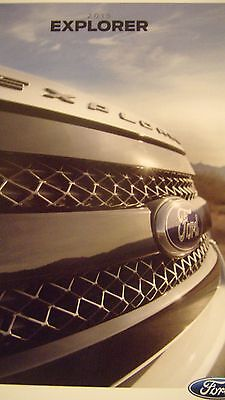 2015 Turbo Charged  Ford Explorer Auto Truck  Crossover Brochure Info Book