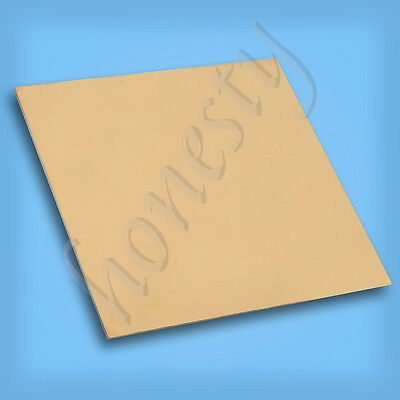 New Brass Metal Thin Sheet Foil Plate Shim Thick 0.5mm/0.8mm/1mm/2mm 100X100mm