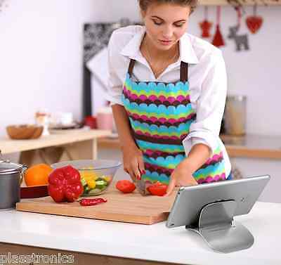 Stainless Steel iphone  Holder Stand and Dock  tablet handsfree charging stand