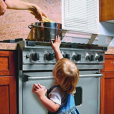 Baby Toddler Adjustable Heat Resistant Safety Guard Protector for Cooker Hob NEW