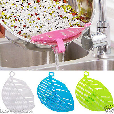 1Pc Multifunctional Multi Plastic Filtering Baffle Rice Beans Cook Kitchen Tool