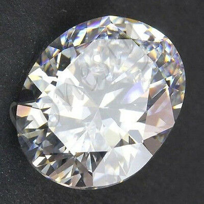 1x Huge 50.40ct 18X25mm White Sapphire Oval Shape Loose Gemstone Zircon New