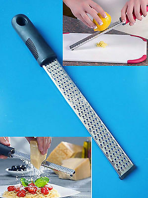 Professional Stainless Steel Hand Held Cheese Grater Lemon
