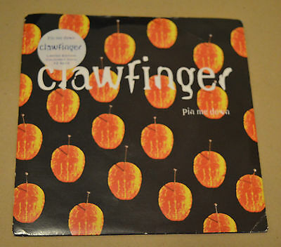"""Clawfinger – Pin Me Down 7"""" Inch Vinyl Single Record ROCK 45rpm 1990s Metal"""