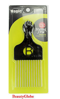 Magic High Quality Hair Pick Afro Pick Styling Pik Metal Pik Item: 2410