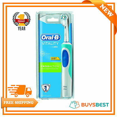 Braun Oral-B Pro Vitality Cross Action Rechargeable Toothbrush - D12CA