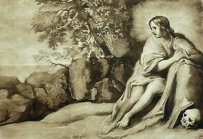 RICHARD EARLOM - Christus - Radierung 1803