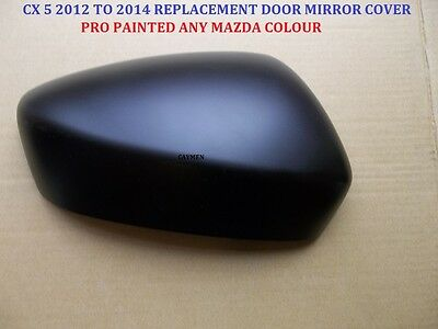 Mazda Cx-5 Genuine Wing Mirror Cover L/H Or RH Any Mazda Colour 2012-14