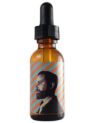 Dubs Stache Wax Mens Organic Beard Oil Conditioner Conditioning Oil 1oz Bottle