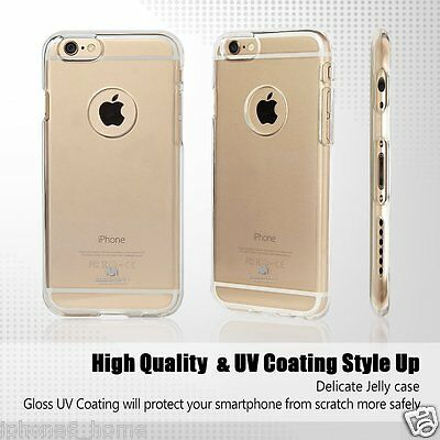 iPhone 6 6s Genuine MERCURY Goospery Clear Case Cover with Apple LOGO Cutout