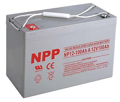 NPP  NP12-100Ah A Rechargeable SLA  RV Solar Off Grid 12V100Ah  Battery