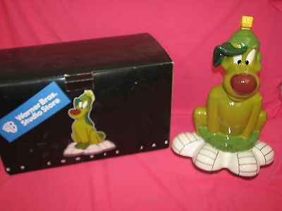 Marvin the Martian K-9 Dog Pet Cookie Jar Looney Tunes Warner Bros Store & Box