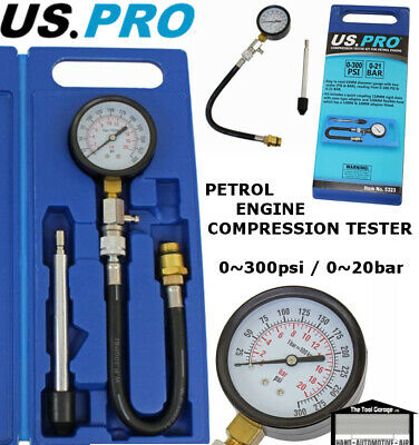 BERGEN Tools Compression Tester Set For Petrol Engines NEW 5254