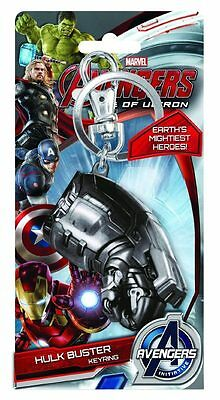 Avengers Age of Ultron Hulkbuster Fist Keychain Keyring Marvel Comics New 68258