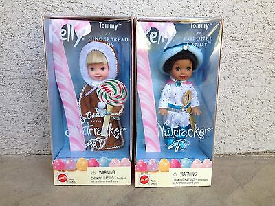 Barbie Kelly Tommy Doll as Gingerbread Boy and Colonel Candy The Nutcracker NIB