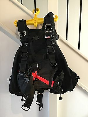 Buoyancy Control Device (BCD) Zeagle Tech 10 BCD, Black (LG)