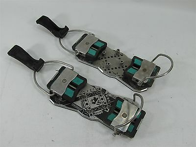 Very Rare Vintage Seabright Race Plate Snowboard Hard Boot Bindings Collectors