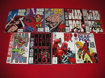 Deadpool Sins Of The Past 1 - 4 2 3 The Circle Chase 1 - 4 2 3 Flashback Minus 1